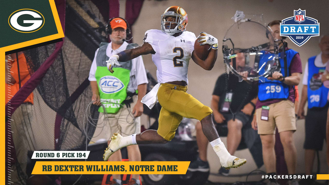 the best attitude 0f34d ea617 Pick profile: Dexter Williams shares emotional day with his ...