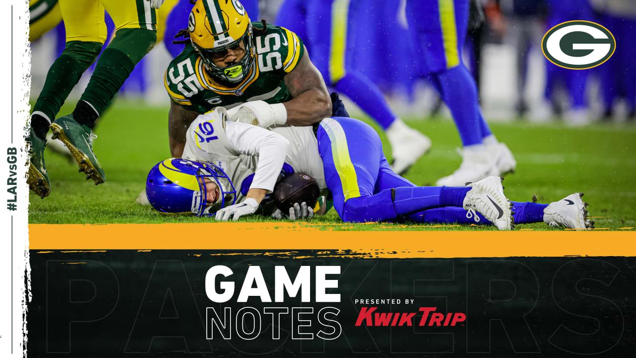 A loud Lambeau helps the Packers' D-Train come up big