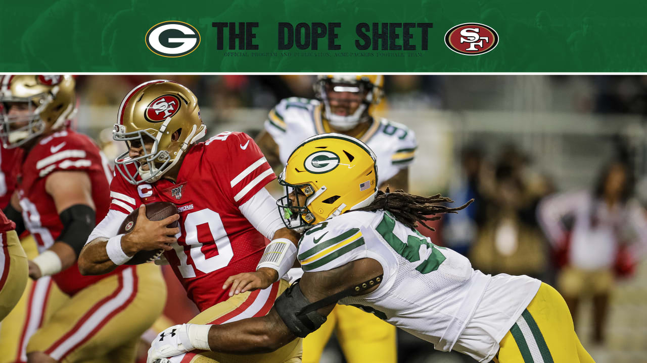 Packers Visit 49ers For Nfc Championship Game