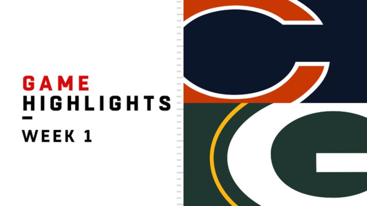Bears Vs Packers Game Highlights Week 1