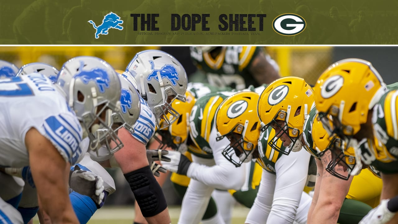 Packers Square Off Against The Lions On Monday Night Football