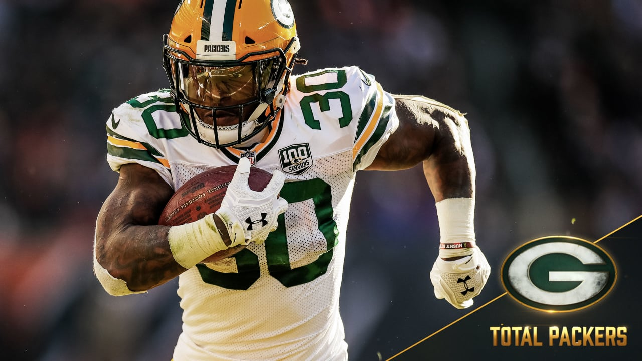low priced 12118 7d0e2 Total Packers with Jamaal Williams