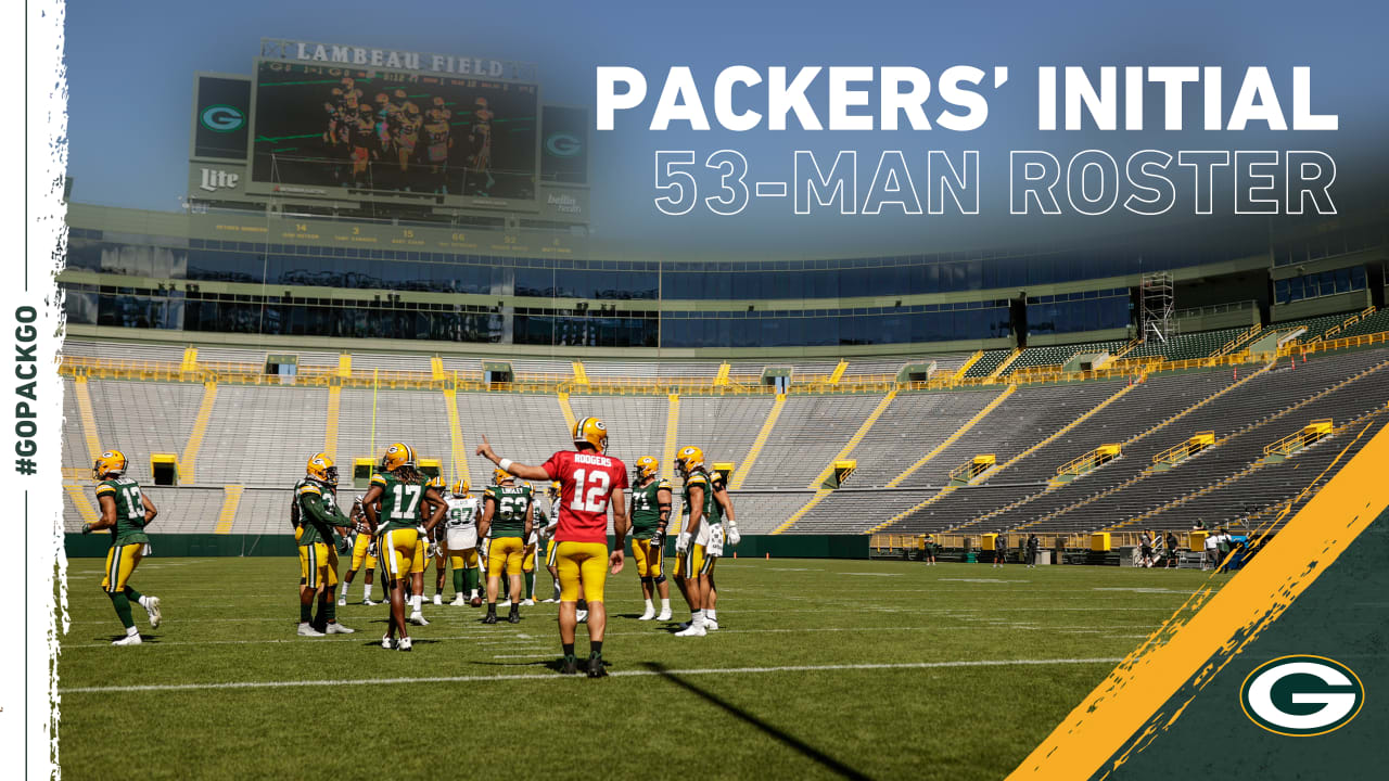 Here S The Packers Initial 53 Man Roster
