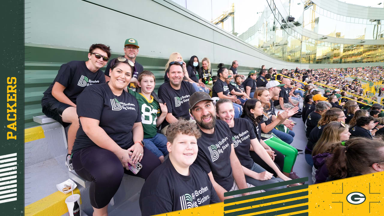 First-ever Packers Give Back Game extends community support