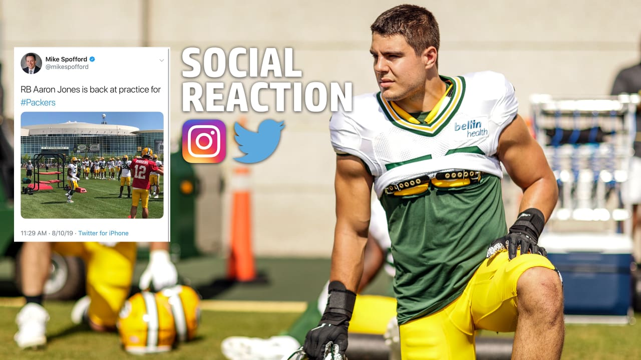 Social Reaction: Packers training camp resumes