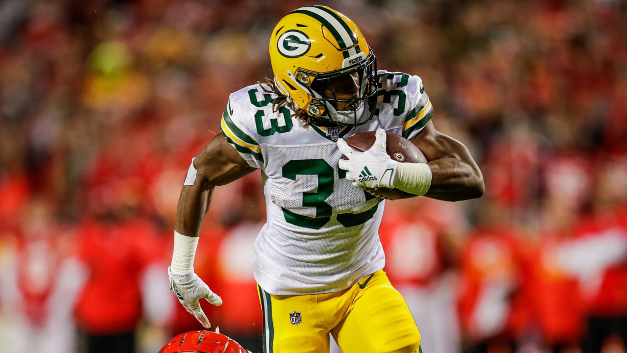 Packers Rb Aaron Jones Best Plays Against Chiefs On Snf Week 8