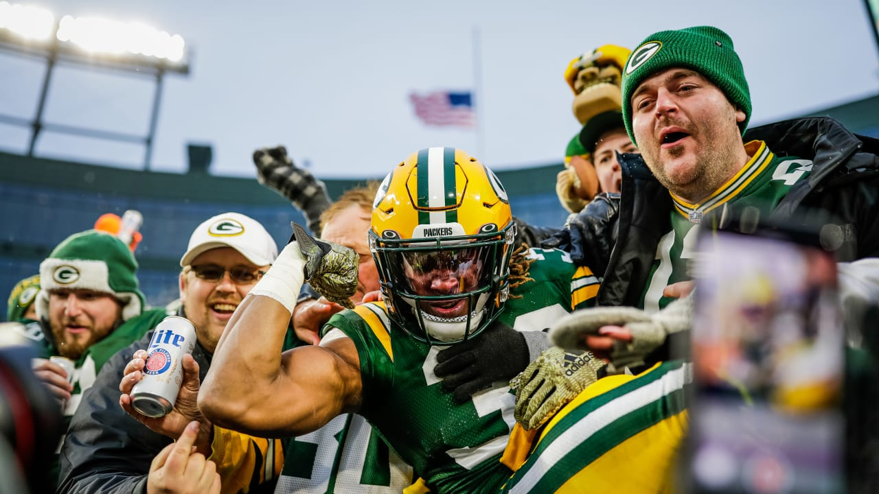 Packers Celebrate Lambeau Leap Day