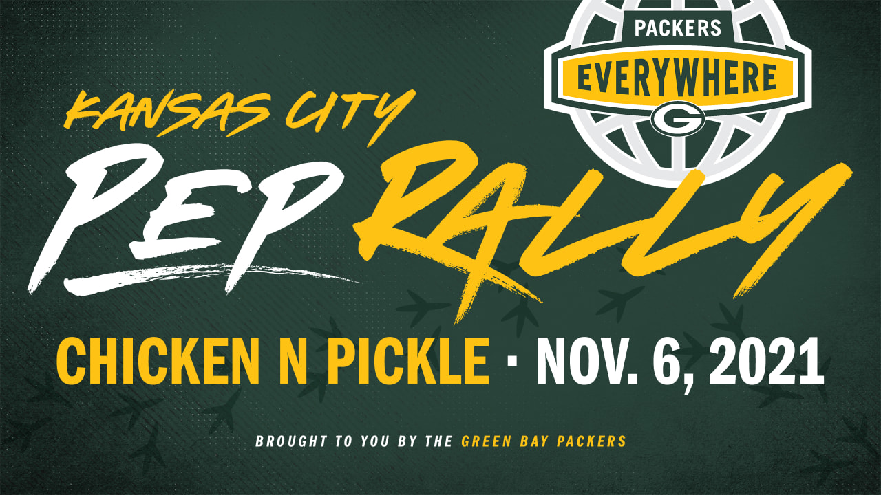 Packers Everywhere set to host free pep rally in Kansas City