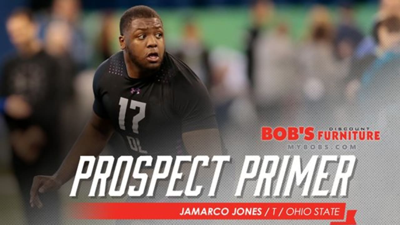 buy popular 15d00 0d7fb Prospect Primer: Jamarco Jones, T, Ohio State