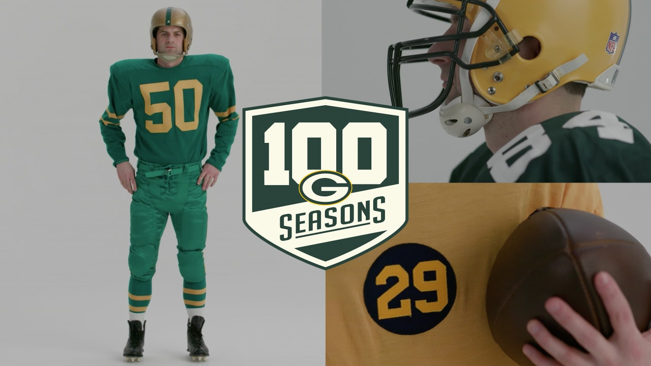 premium selection 99364 47b07 Packers uniforms throughout history