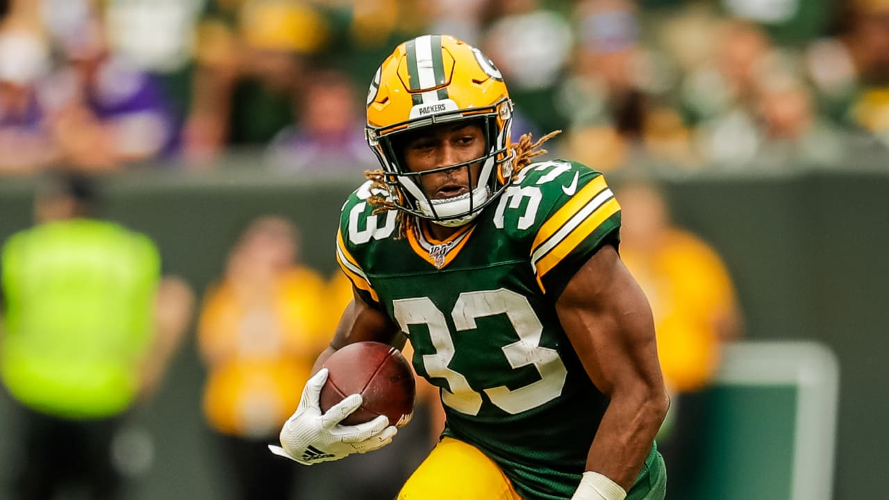 Packers RB Aaron Jones nominated for FedEx Ground Player of the Week