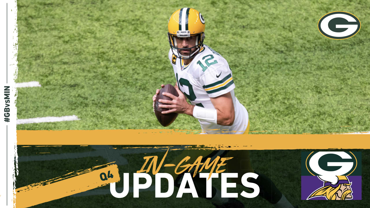 Packers Offense Shines In 43 34 Win Over Vikings In Opener