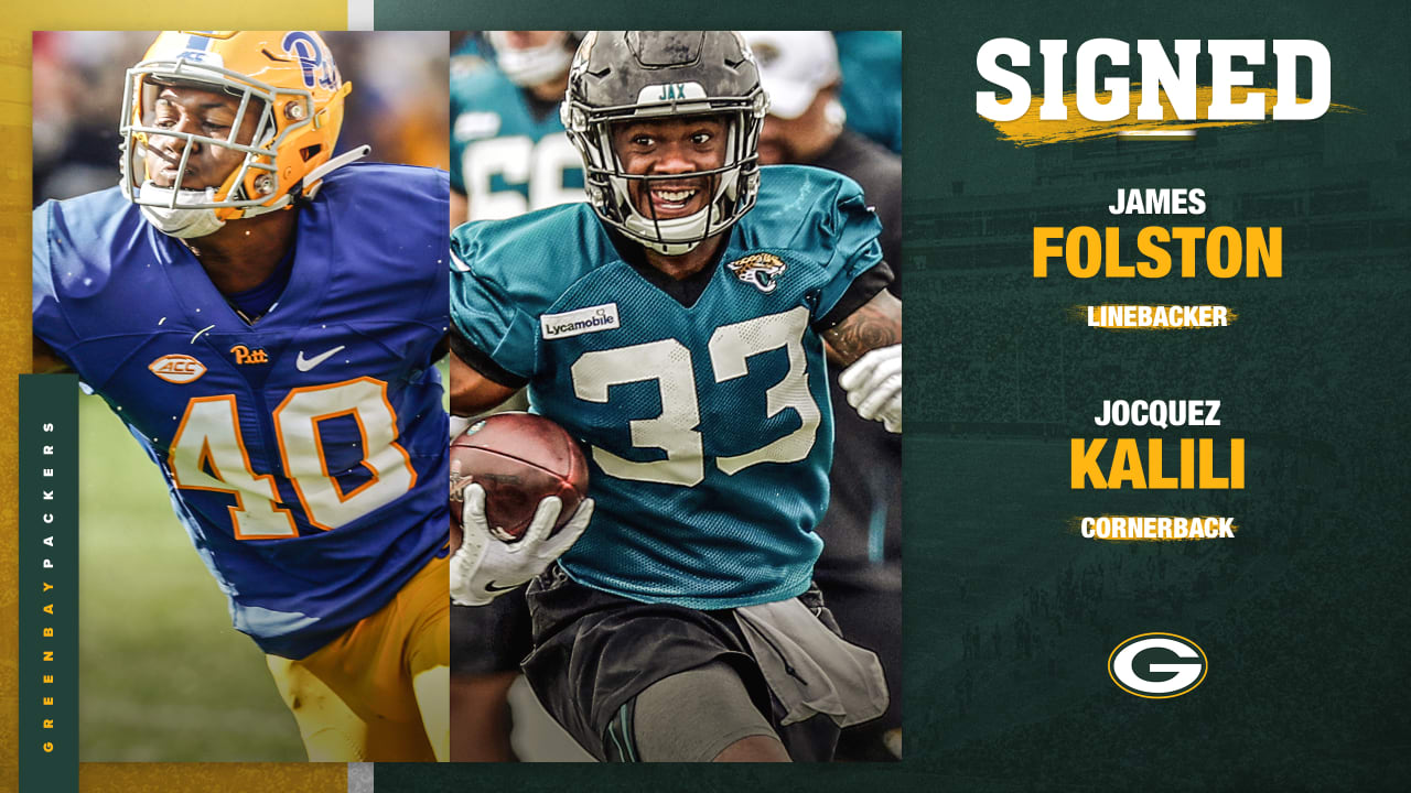 the best attitude efcfe 75f3d Packers sign Folston, Kalili