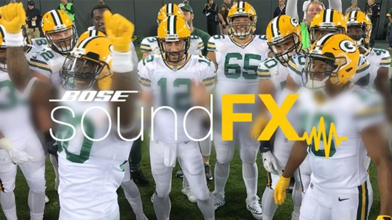 Soundfx Packers Warm Up In Color Rush Uniforms