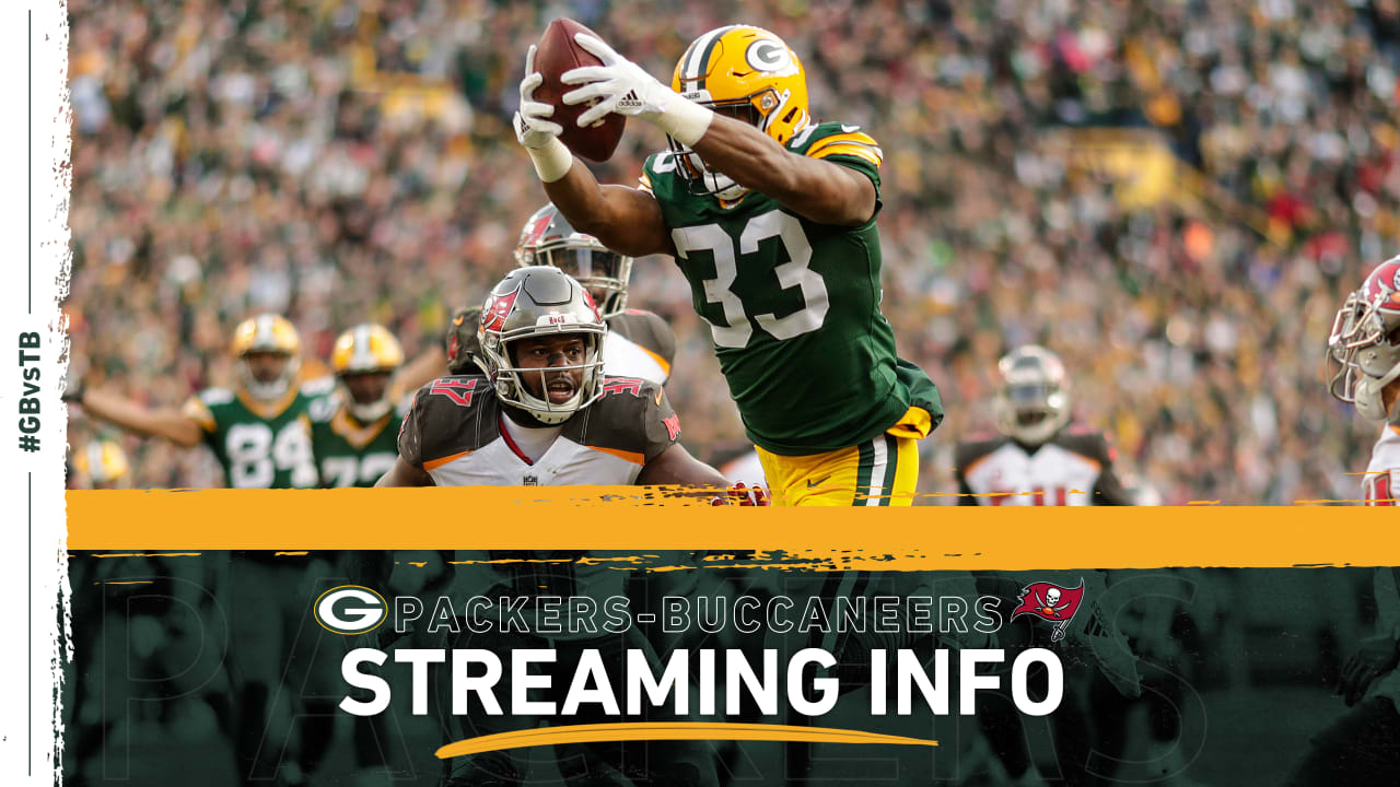 How to stream, watch Packers-Buccaneers game on TV