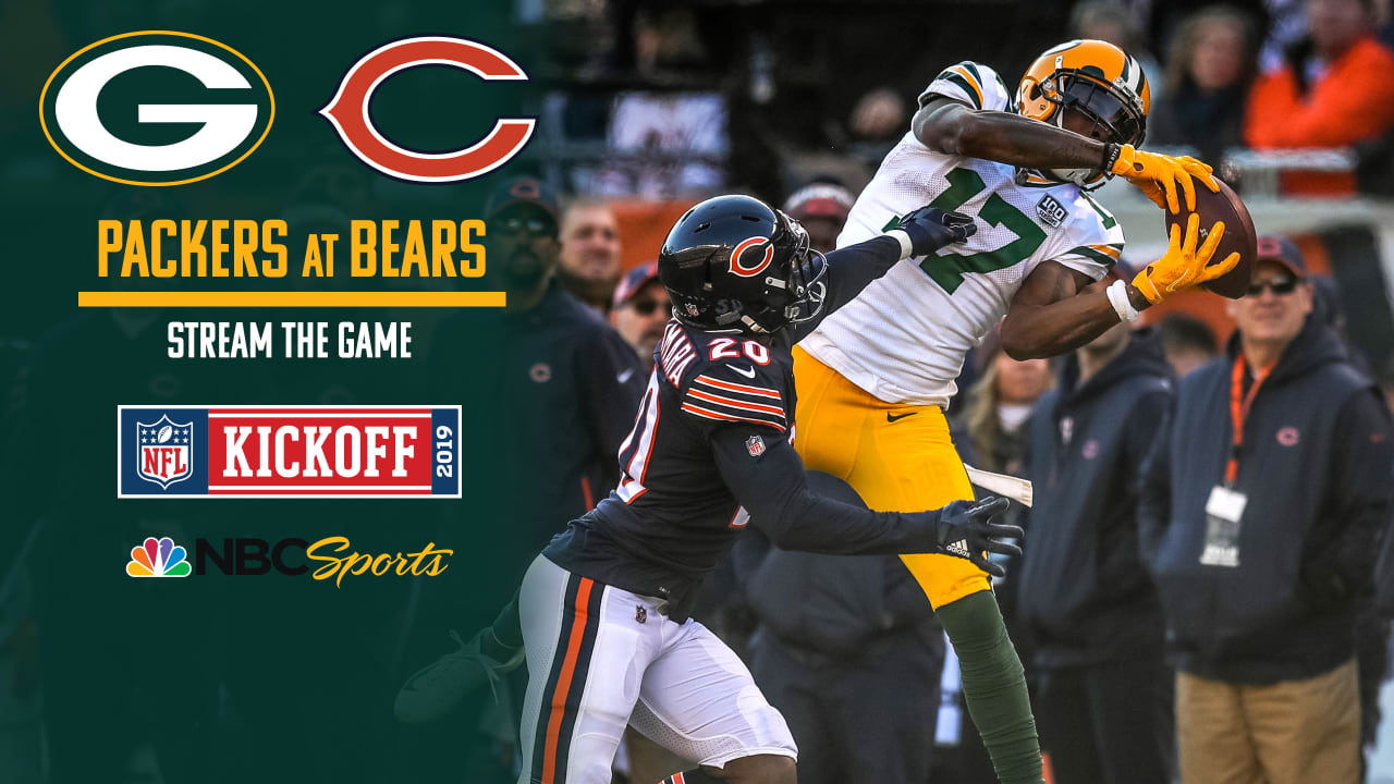 bears packers game live online free