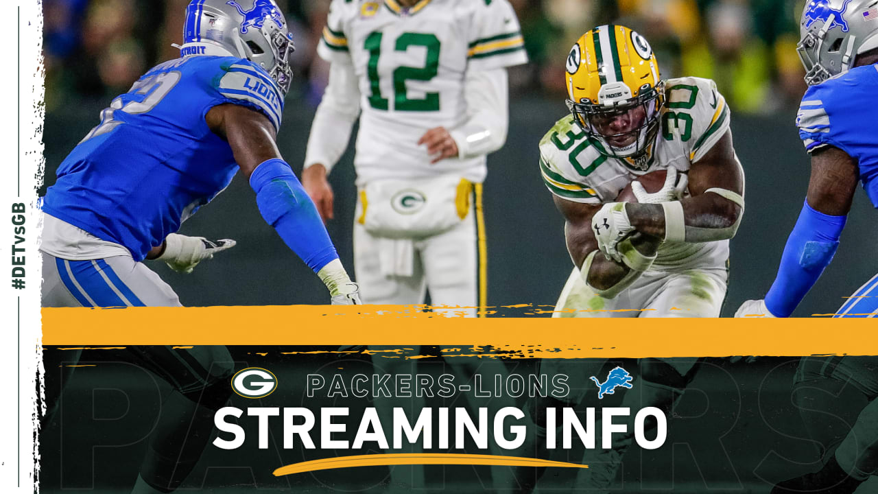 How to stream, watch Packers-Lions game on TV