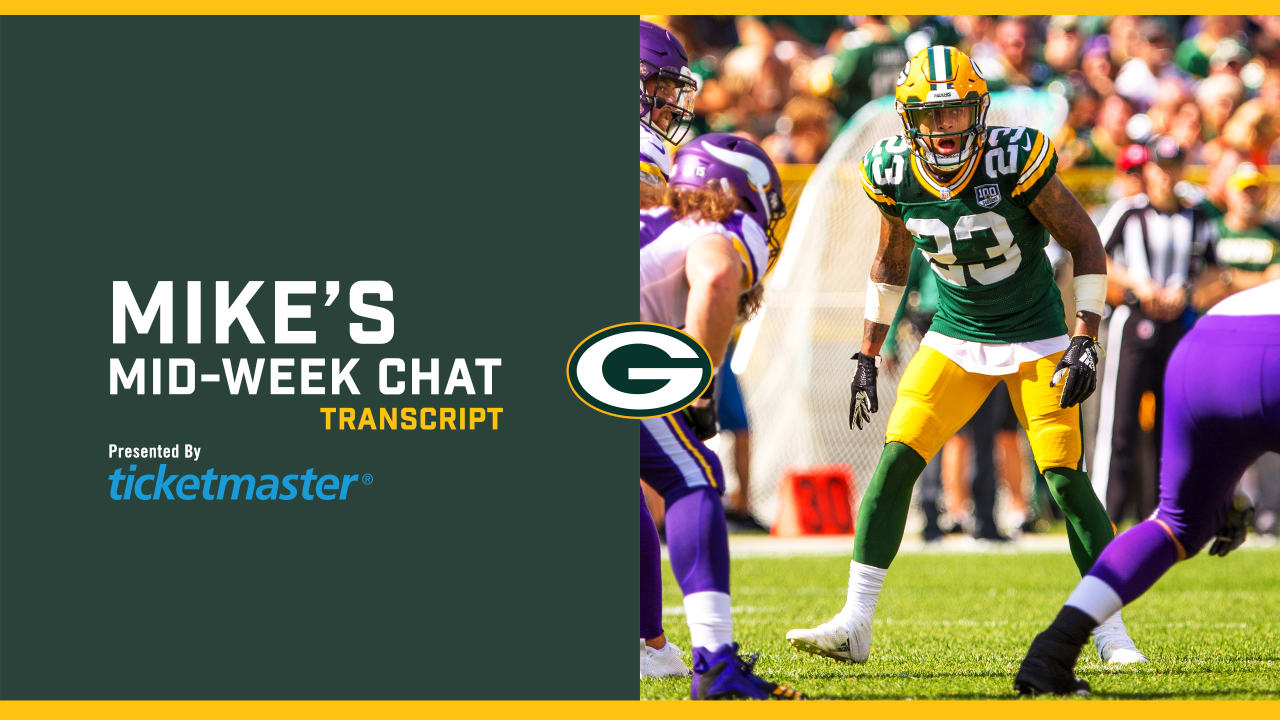 Mike S Mid Week Chat How Big Is This Week 2 Game Against