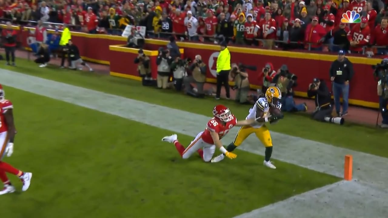 Can T Miss Play Qb Rodgers Slings Stunning Pass To Rb Williams For Td