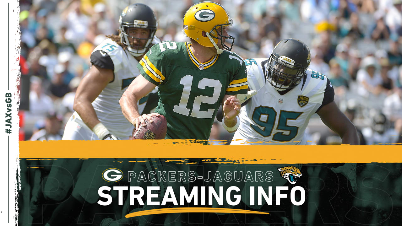 How to stream, watch Packers-Jaguars game on TV