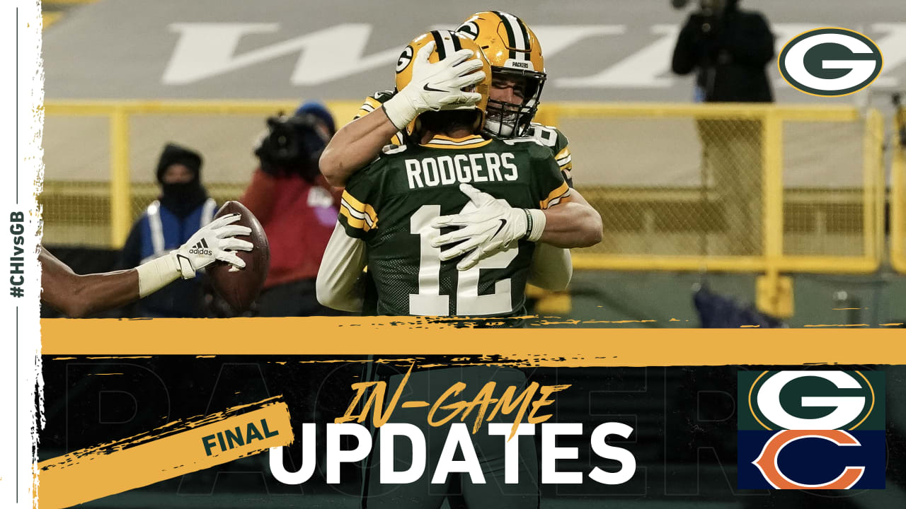 Packers control division race with 41-25 win over Bears - Packers.com