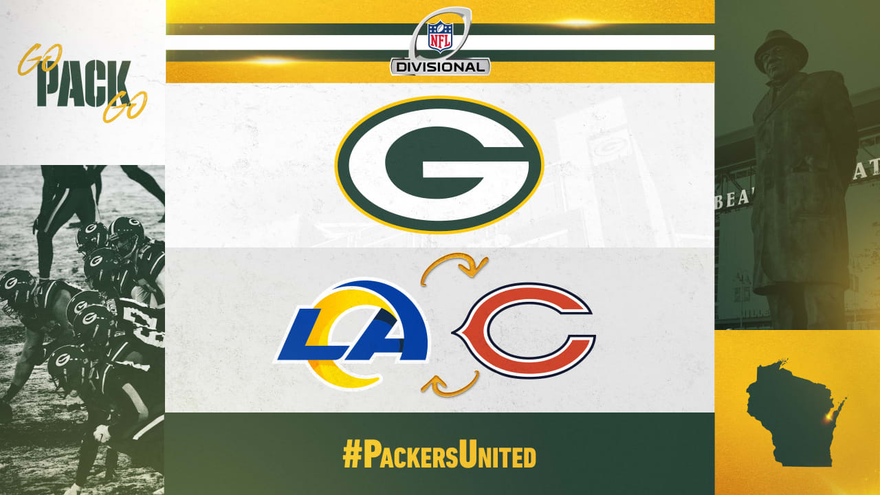 NFC playoff update: Packers will host Rams or Bears in divisional round