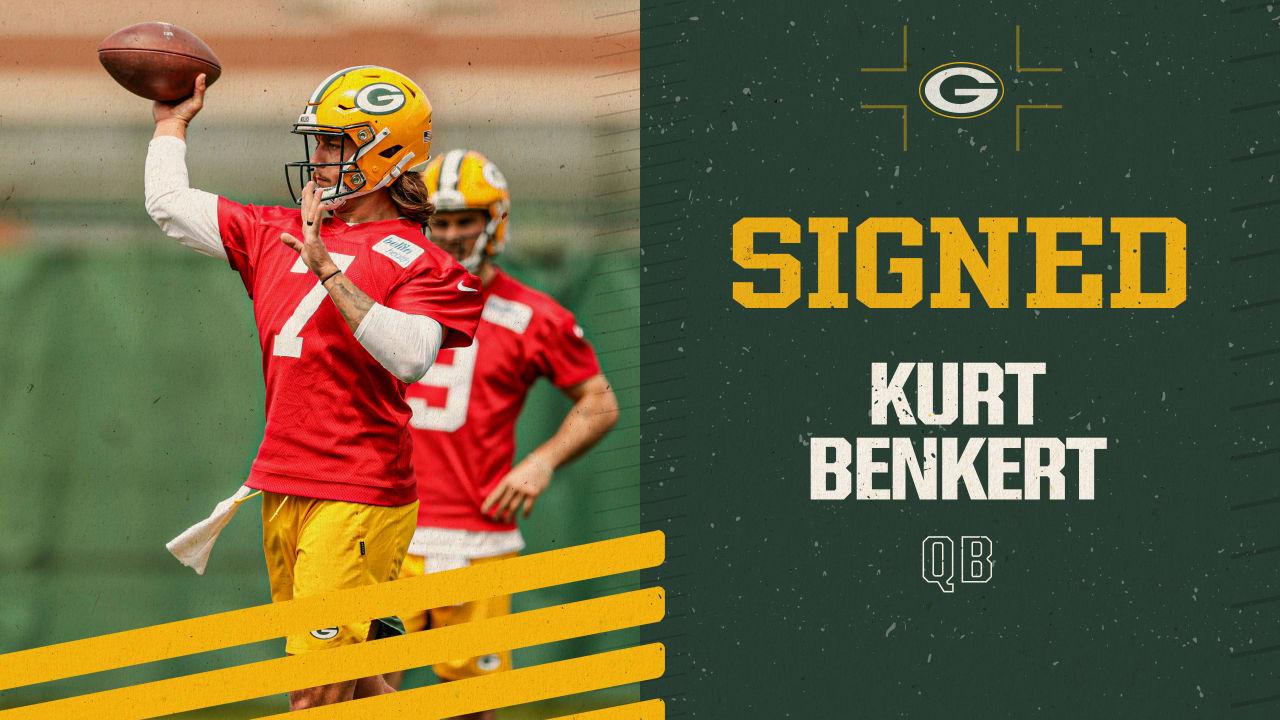 Packers sign QB Kurt Benkert