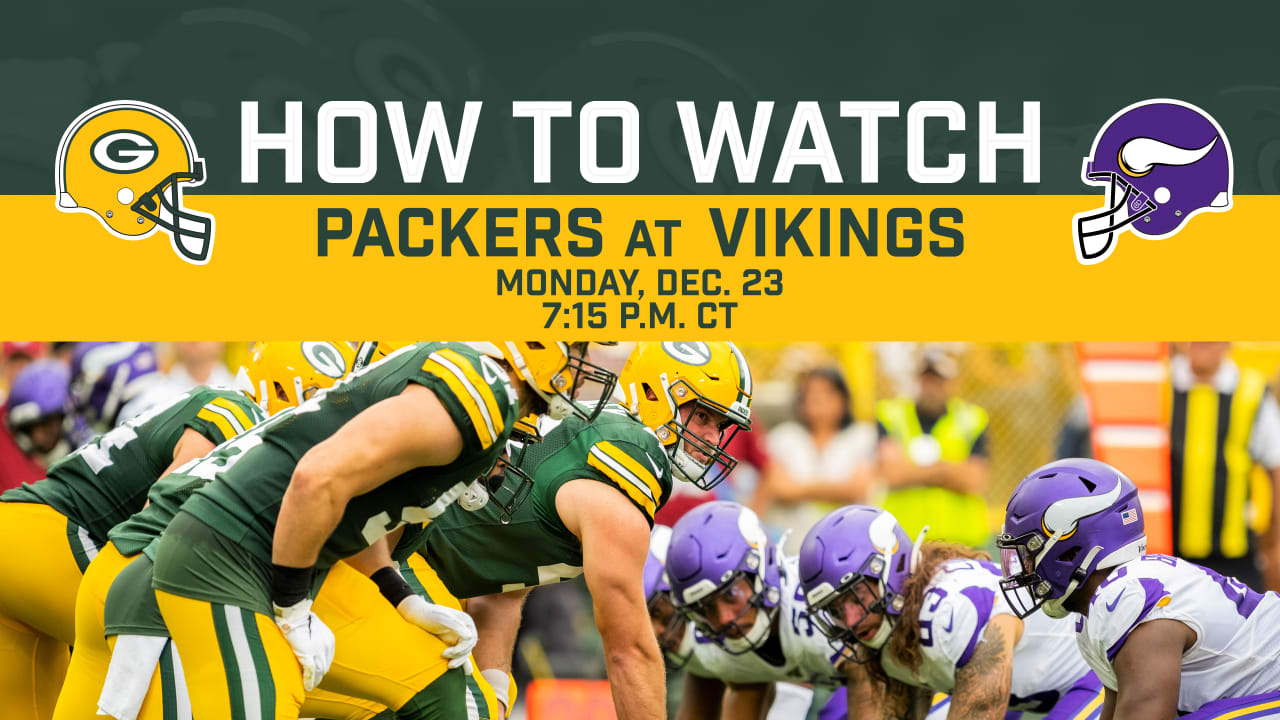 How To Stream Watch Packers Vikings Game On Tv