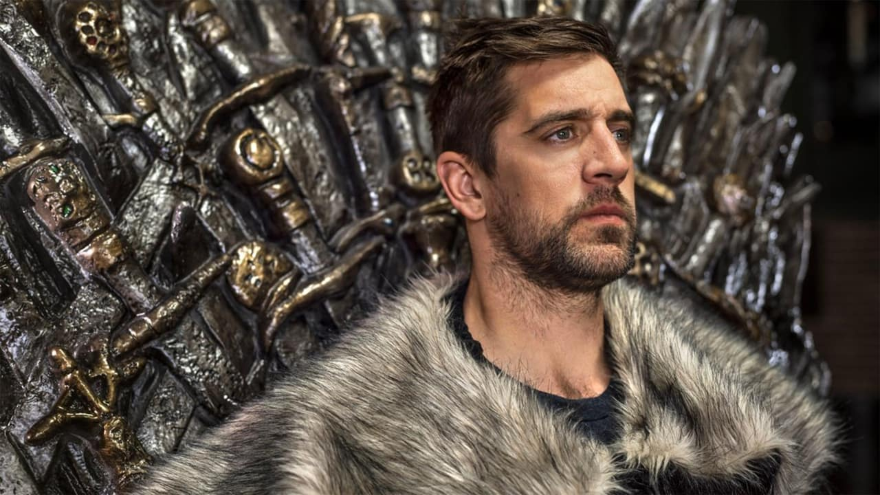 Aaron Rodgers Sits Upon Iron Throne In Game Of Thrones Promos