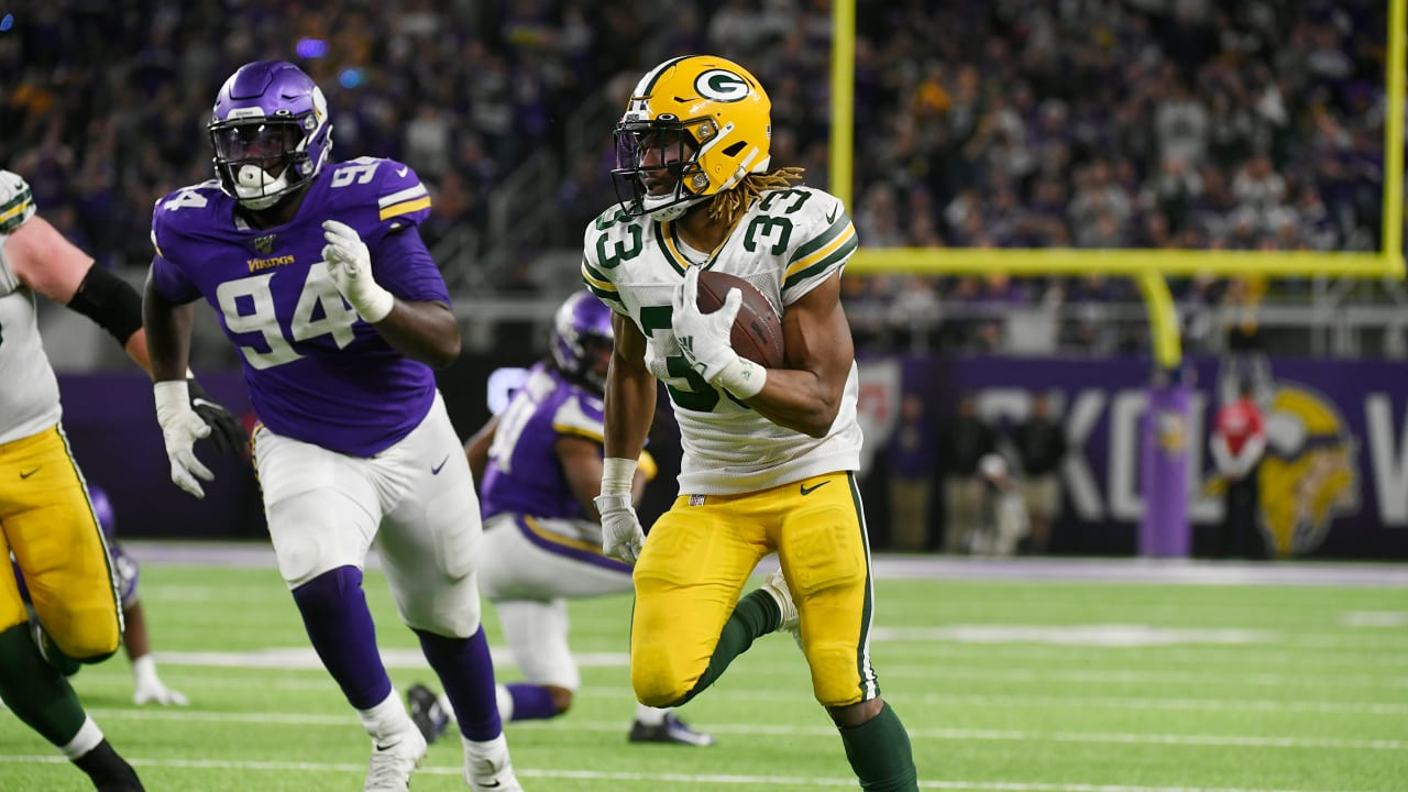 Nfl Suspends Packers Rb Aaron Jones