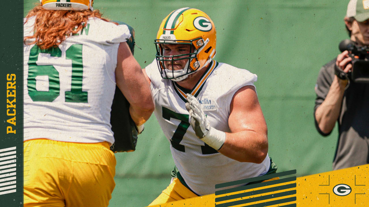 Josh Myers learning all he can in quest to be Packers' starting center