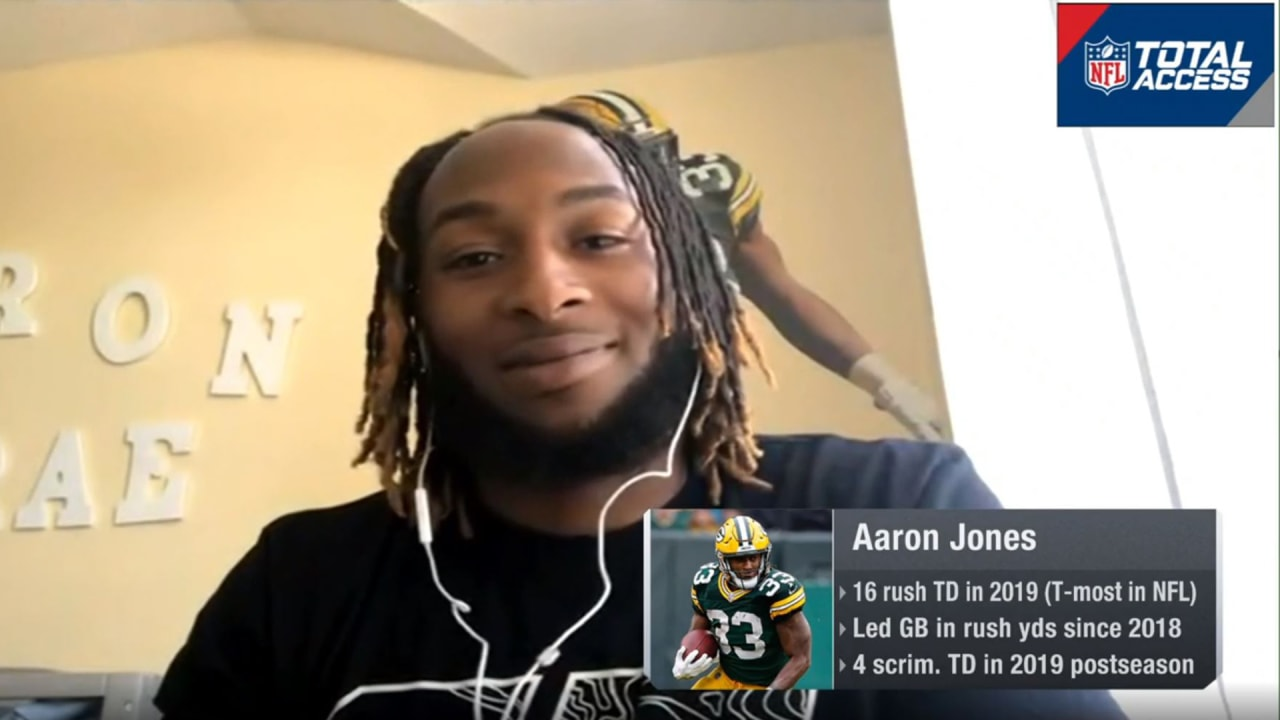 Aaron Jones Eager To Build Upon Breakout 2019 Season