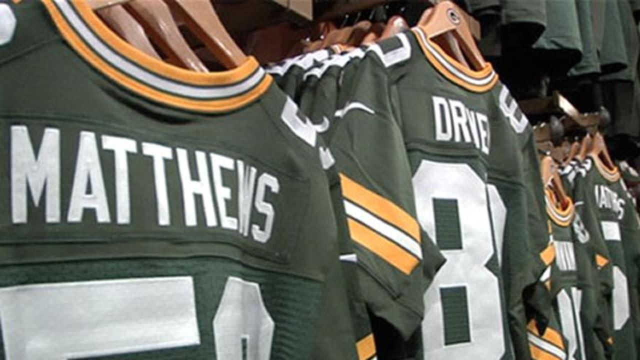 Packers Pro Shop debuts new jerseys