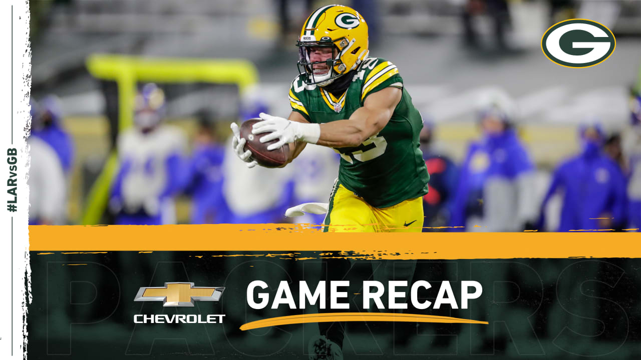 Redemption produces playoff clincher as Packers put away Rams