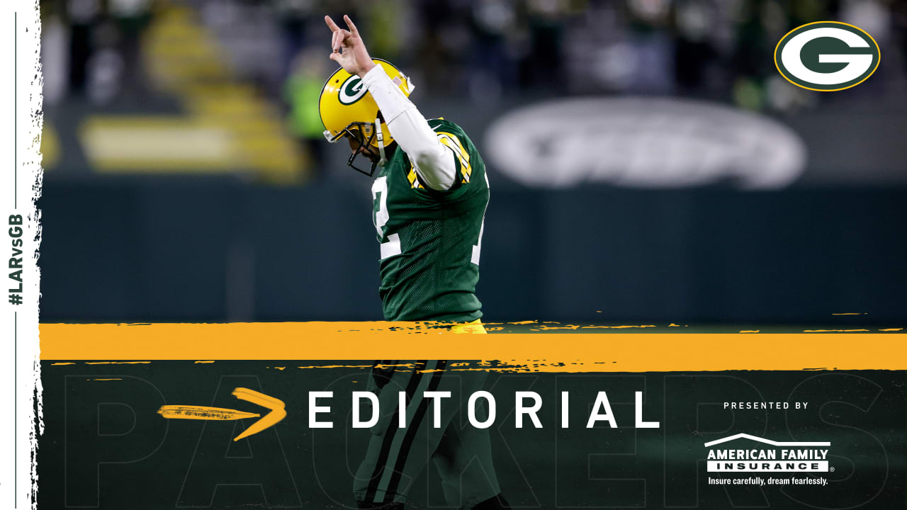 Return of fans, opportunity afoot get Aaron Rodgers 'a little emotional'