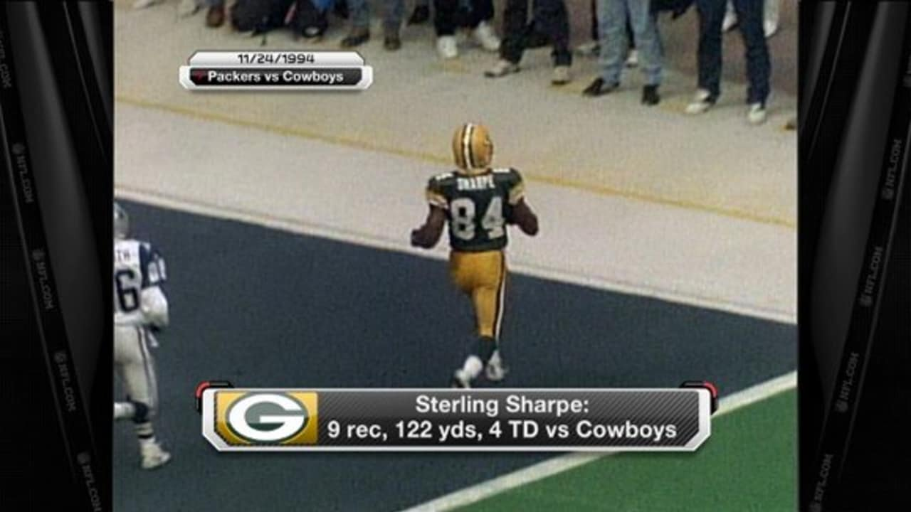266a9298 Thanksgiving Throwback: Sterling Sharpe catches 4 TDs