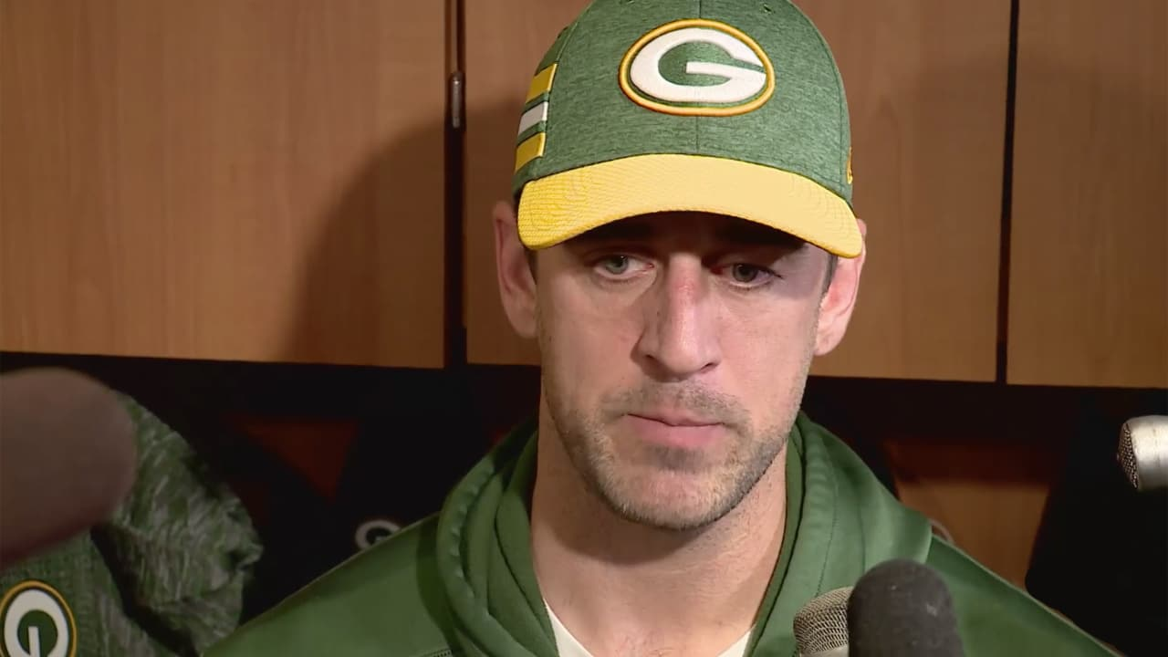 Aaron Rodgers reacts to Packers  head-coaching change a5488e7eb