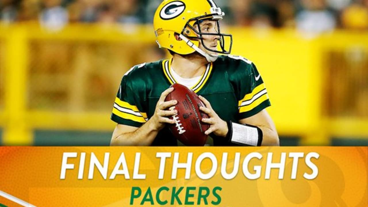 Packers vs. Rams: Final Thoughts