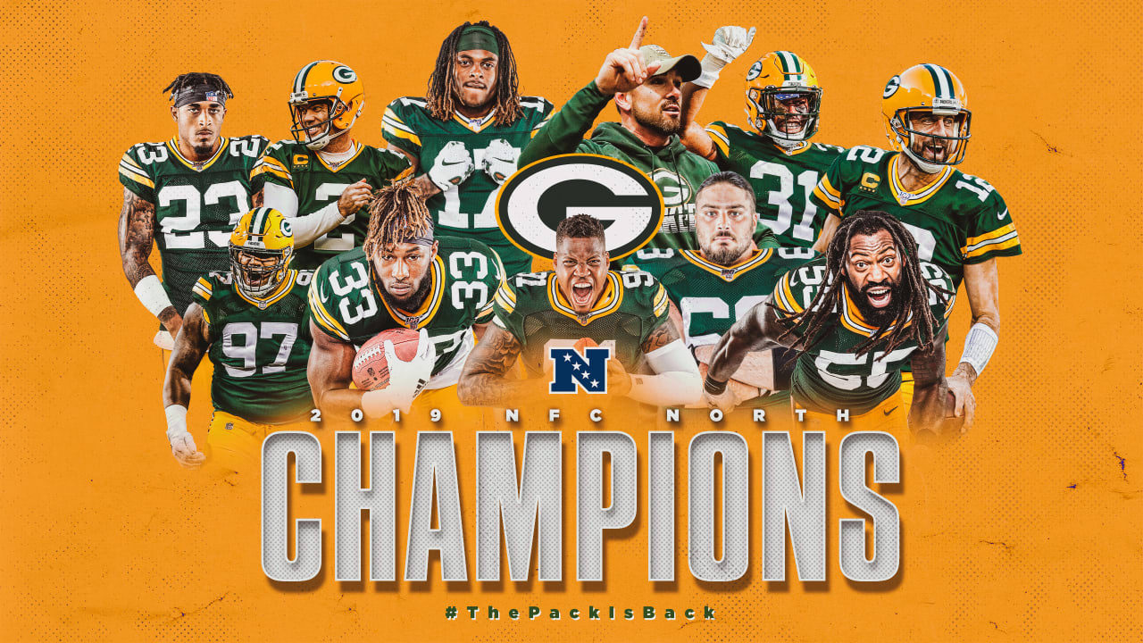 Packers Win Nfc North Title With 23 10 Victory Over Vikings