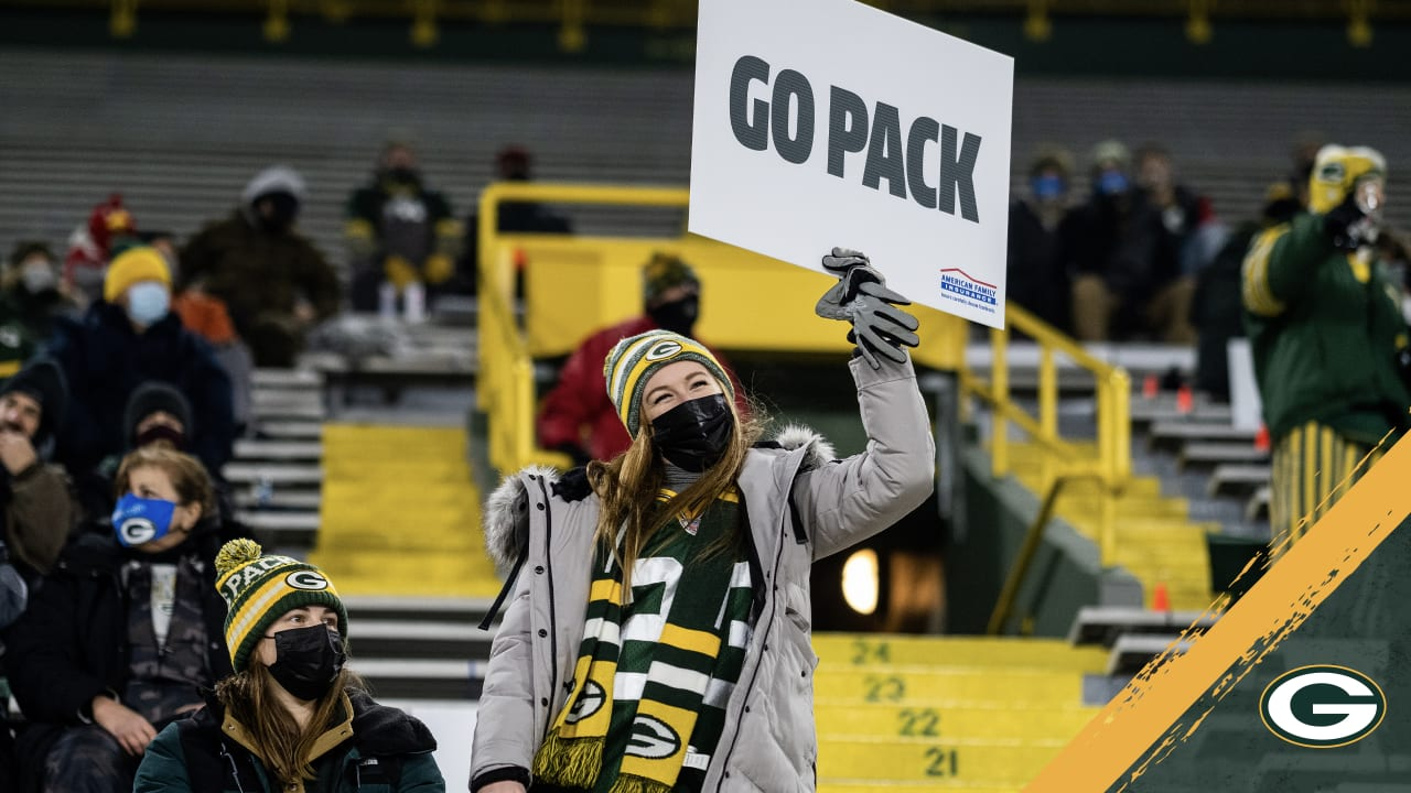 Packers will 'feed off that energy' from fans at Lambeau in playoffs