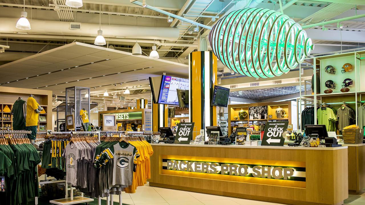 separation shoes 728d1 e4c81 Packers Pro Shop Tent Sale now underway
