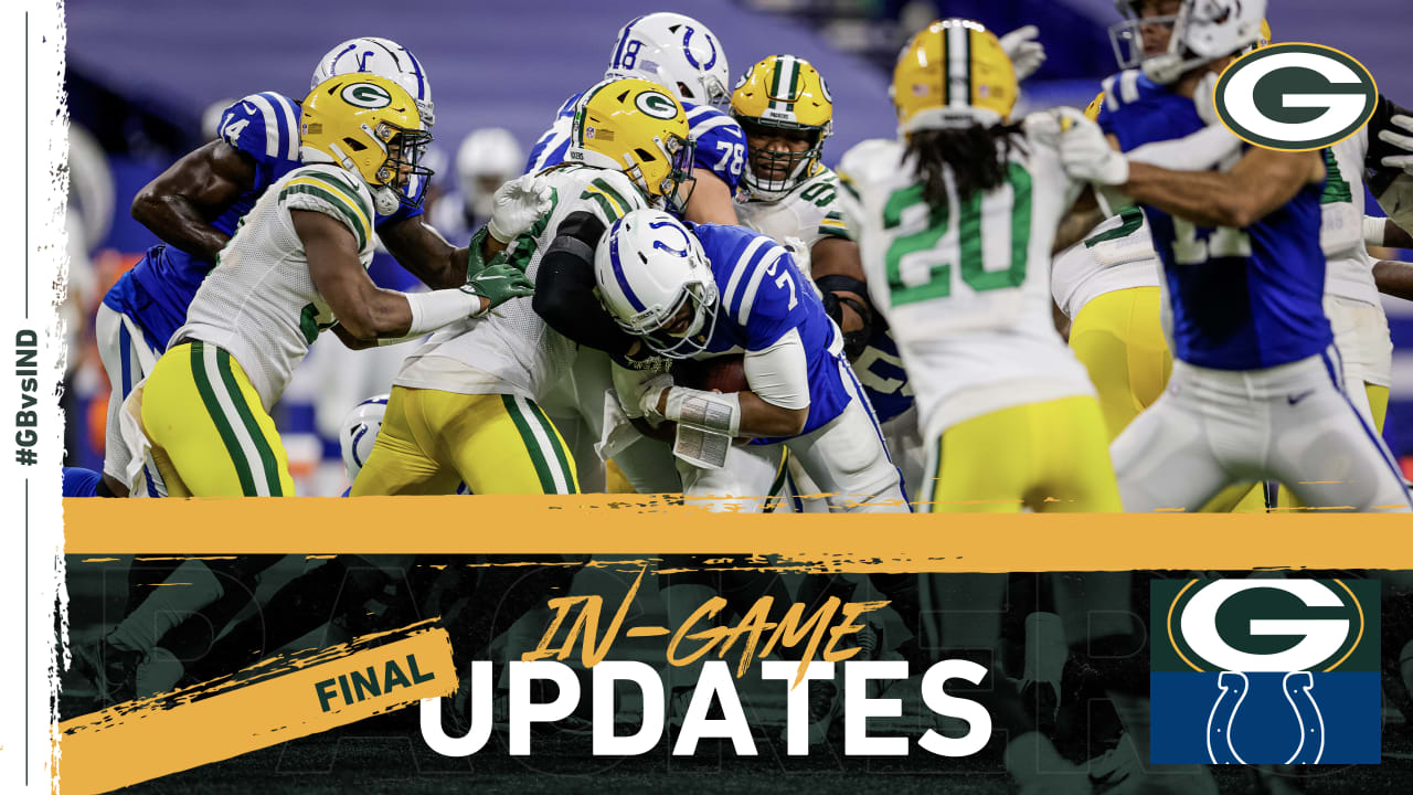 Packers drop wild game to Colts in overtime, 34-31