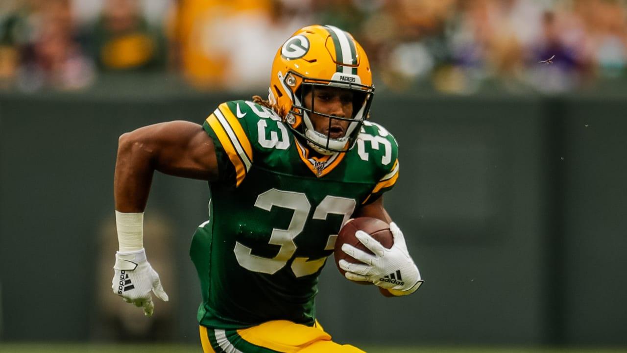 Packers Rb Aaron Jones Best Plays Vs The Vikings Week 2