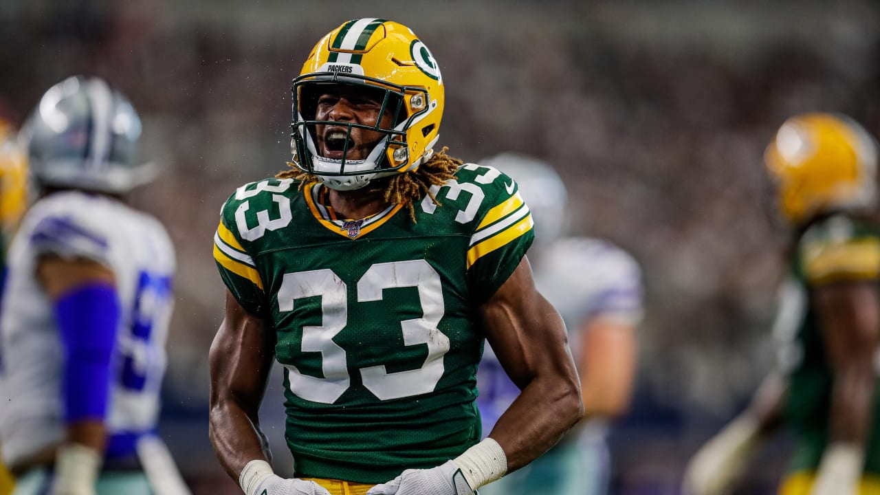 Packers Rb Aaron Jones Best Plays From Four Td Game Week 5