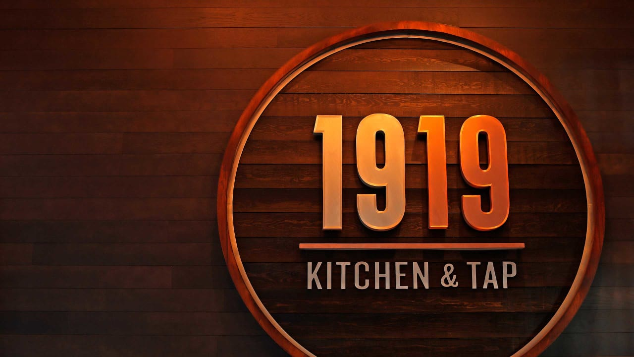 1919 Kitchen Tap Serving More Player Inspired Flatbreads