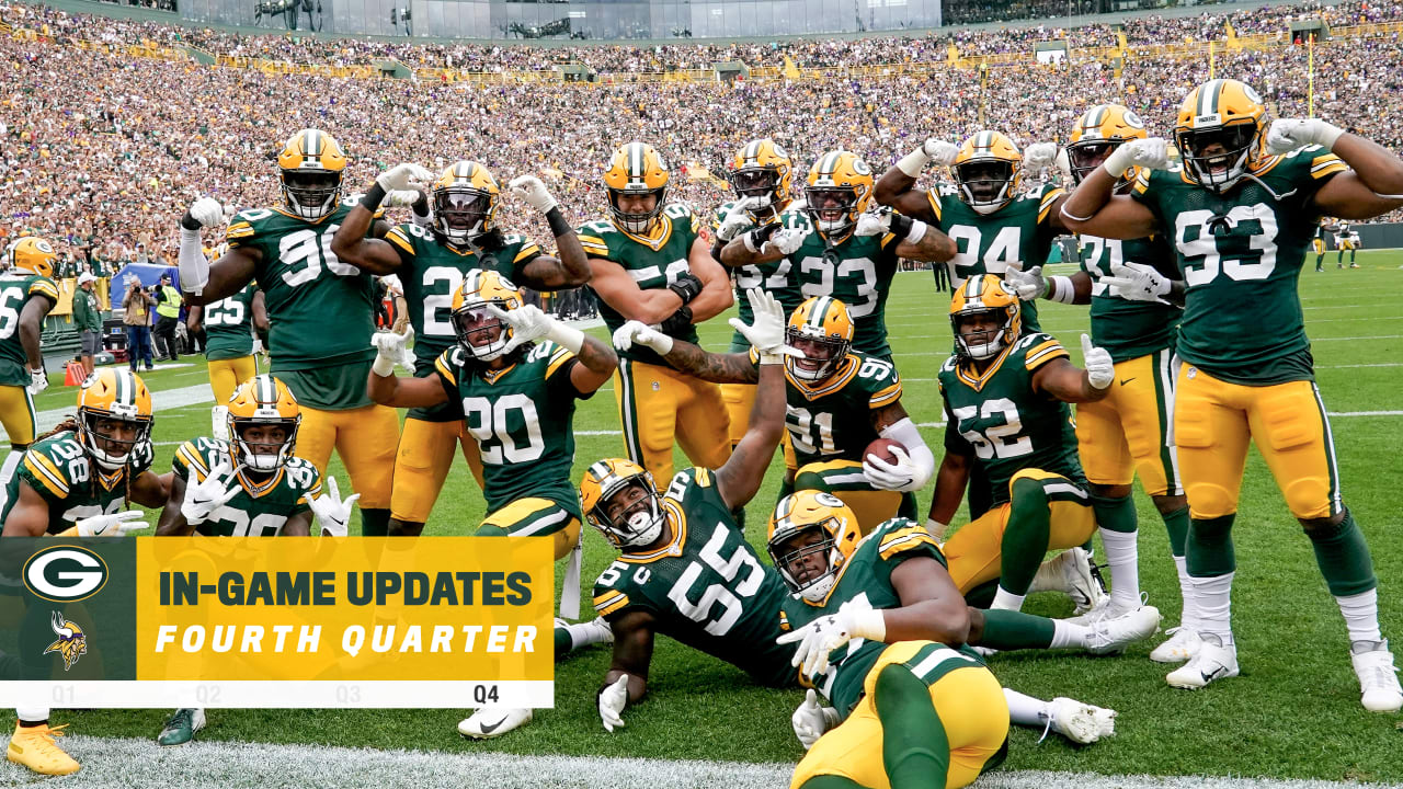 Packers Hang On For 21 16 Victory Over Vikings