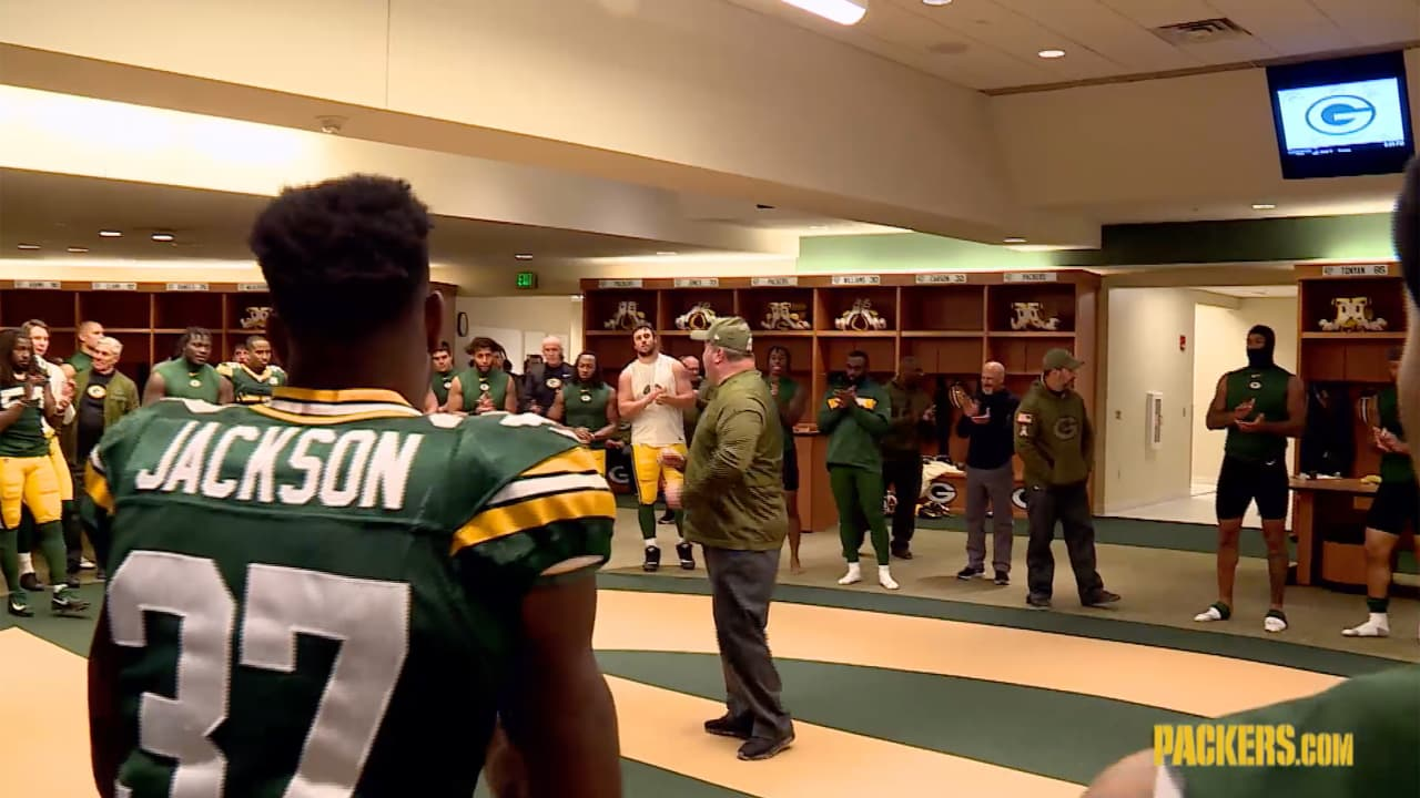 Packers Locker Room Reacts To Victory Over Dolphins