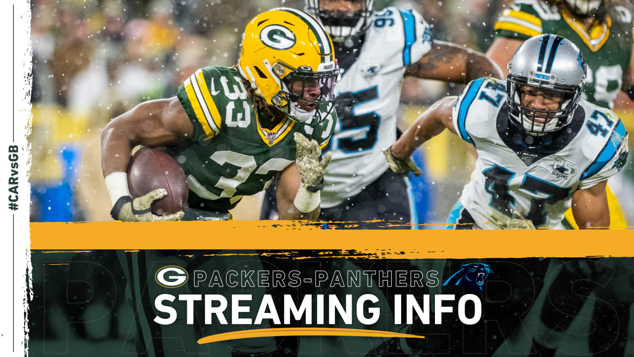 How to stream, watch Packers-Panthers game on TV