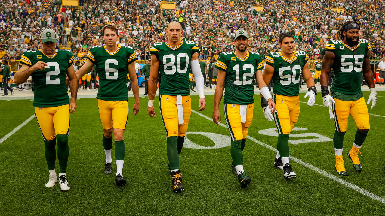 cheap for discount 3d0aa 9a124 Packers elect team captains: Aaron Rodgers, Za'Darius Smith ...