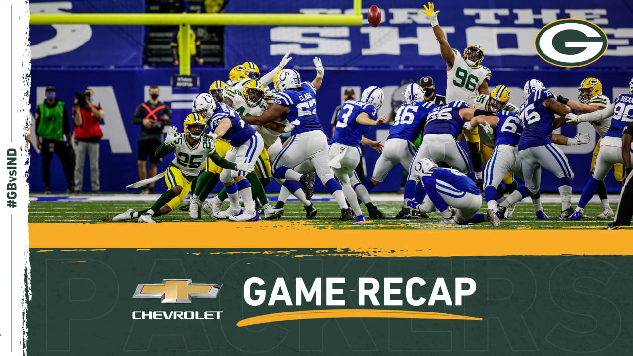 Falling in overtime, Packers know what could've been in Indy